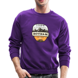 Hotham Is Calling - Crewneck Sweatshirt - purple