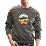 Hotham Is Calling - Crewneck Sweatshirt - asphalt gray