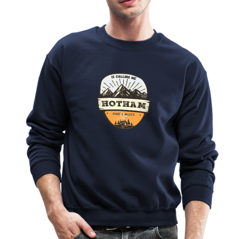 Hotham Is Calling - Crewneck Sweatshirt - navy