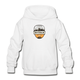 Hotham Is Calling - Heavy Blend Youth Hoodie - white