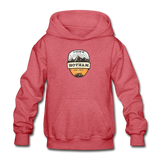 Hotham Is Calling - Heavy Blend Youth Hoodie - heather red