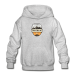 Hotham Is Calling - Heavy Blend Youth Hoodie - heather gray
