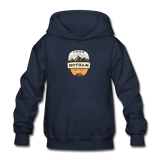 Hotham Is Calling - Heavy Blend Youth Hoodie - navy