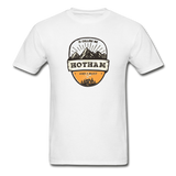 Hotham Is Calling -  Adult Tagless T-Shirt - white