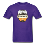 Hotham Is Calling -  Adult Tagless T-Shirt - purple