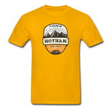 Hotham Is Calling -  Adult Tagless T-Shirt - gold