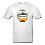 Hotham Is Calling -  Adult Tagless T-Shirt - light heather gray