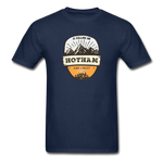 Hotham Is Calling -  Adult Tagless T-Shirt - navy