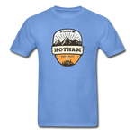 Hotham Is Calling -  Adult Tagless T-Shirt - carolina blue