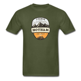 Hotham Is Calling -  Adult Tagless T-Shirt - military green