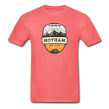 Hotham Is Calling -  Adult Tagless T-Shirt - coral