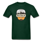 Hotham Is Calling -  Adult Tagless T-Shirt - forest green