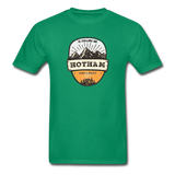 Hotham Is Calling -  Adult Tagless T-Shirt - kelly green