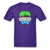 Falls Creek Is Calling -  Adult Tagless T-Shirt - purple