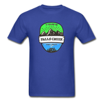 Falls Creek Is Calling -  Adult Tagless T-Shirt - royal blue