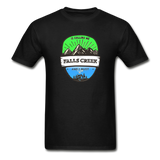 Falls Creek Is Calling -  Adult Tagless T-Shirt - black