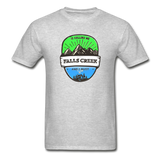 Falls Creek Is Calling -  Adult Tagless T-Shirt - heather gray