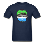 Falls Creek Is Calling -  Adult Tagless T-Shirt - navy