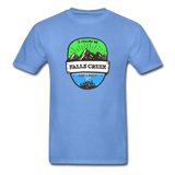 Falls Creek Is Calling -  Adult Tagless T-Shirt - carolina blue
