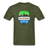 Falls Creek Is Calling -  Adult Tagless T-Shirt - military green