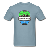 Falls Creek Is Calling -  Adult Tagless T-Shirt - stonewash blue