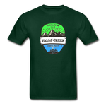 Falls Creek Is Calling -  Adult Tagless T-Shirt - forest green