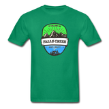 Falls Creek Is Calling -  Adult Tagless T-Shirt - kelly green