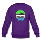 Falls Creek Is Calling - Crewneck Sweatshirt - purple