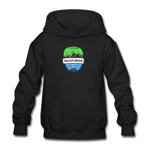 Falls Creek Is Calling - Heavy Blend Youth Hoodie - black