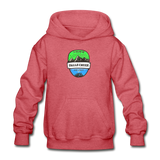 Falls Creek Is Calling - Heavy Blend Youth Hoodie - heather red