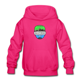 Falls Creek Is Calling - Heavy Blend Youth Hoodie - fuchsia