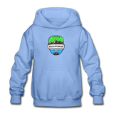Falls Creek Is Calling - Heavy Blend Youth Hoodie - carolina blue