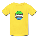 Falls Creek Is Calling - Youth Tagless T-Shirt - yellow