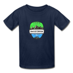 Falls Creek Is Calling - Youth Tagless T-Shirt - navy