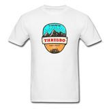 Thredbo Is Calling - Adult Tagless T-Shirt - white
