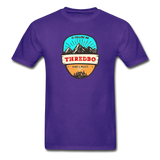 Thredbo Is Calling - Adult Tagless T-Shirt - purple