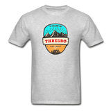 Thredbo Is Calling - Adult Tagless T-Shirt - heather gray