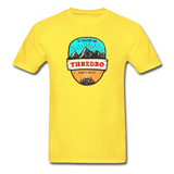 Thredbo Is Calling - Adult Tagless T-Shirt - yellow