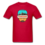 Thredbo Is Calling - Adult Tagless T-Shirt - red