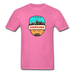 Thredbo Is Calling - Adult Tagless T-Shirt - hot pink