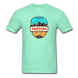 Thredbo Is Calling - Adult Tagless T-Shirt - deep mint