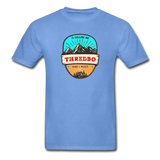 Thredbo Is Calling - Adult Tagless T-Shirt - carolina blue