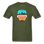 Thredbo Is Calling - Adult Tagless T-Shirt - military green