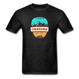 Thredbo Is Calling - Adult Tagless T-Shirt - charcoal gray