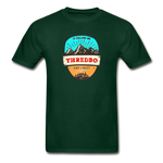 Thredbo Is Calling - Adult Tagless T-Shirt - forest green