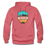 Thredbo Is Calling - Heavy Blend Adult Hoodie - heather red