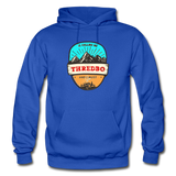 Thredbo Is Calling - Heavy Blend Adult Hoodie - royal blue