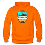 Thredbo Is Calling - Heavy Blend Adult Hoodie - orange