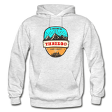 Thredbo Is Calling - Heavy Blend Adult Hoodie - light heather gray