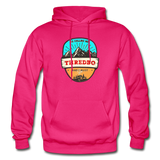 Thredbo Is Calling - Heavy Blend Adult Hoodie - fuchsia